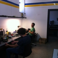 Photo taken at Racanati Tachigrafi by Sergio R. on 6/27/2012