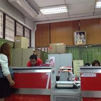 Photo taken at Bangna Post Office by Sky I. on 7/5/2012