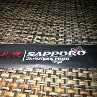 Photo taken at Sapporo Japanese Food by Silvana G. on 8/8/2012