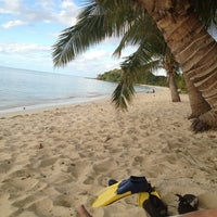 Photo taken at North Beach Mana Island Fiji by Bianca S. on 7/19/2012