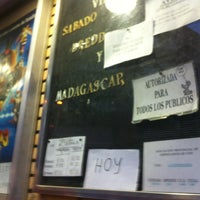 Photo taken at Cine La Esperanza by Daniel S. on 9/9/2012