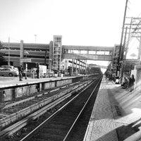 Photo taken at LIRR - Mineola Station by Brandon G. on 8/4/2012