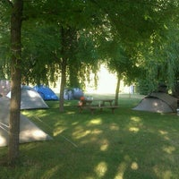 Photo taken at Camping Vall de Camprodon by quissos o. on 7/7/2012