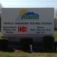 Photo taken at Illinois Air Team - Emissions Testing Station by Vla G. on 3/21/2012