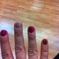 Photo taken at Victoria Nail Salon by Laur Laur H. on 3/12/2012