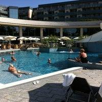 Photo taken at Hotel Spirit Thermal Spa by Tereza on 8/26/2012