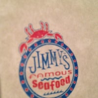 Photo taken at Jimmy's Famous Seafood by kristin k. on 8/1/2012
