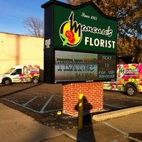 Photo taken at Mancuso's Florist, Inc. by Frank M. on 2/12/2012