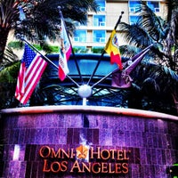 Photo taken at Omni Los Angeles Hotel at California Plaza by Shannon S. on 4/15/2012