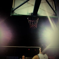 Photo taken at Jianwai SOHO Basketball Court by Hugh X. on 5/9/2012