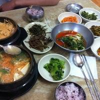 Photo taken at 오리정순두부 by jeane j. on 7/19/2012