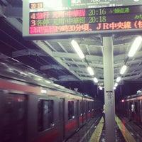 Photo taken at Tokyu Kikuna Station by ちふ I. on 6/19/2012