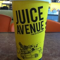 Photo taken at Juice Avenue by Jason G. on 5/25/2012