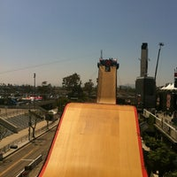 Photo taken at X Games Los Angeles 2012 by Andrew N. on 7/2/2012