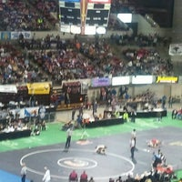 Photo taken at Rimrock Auto Arena by Zach N. on 2/12/2012
