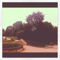 Photo taken at Plac Artystów by Anna M. on 7/7/2012