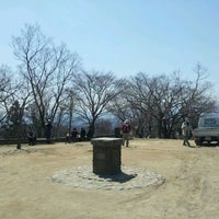 Photo taken at Top of Mt. Takao by Hidemi N. on 4/5/2012