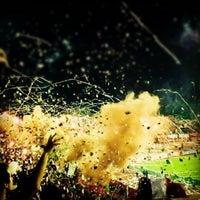 Photo taken at Estadio Olímpico Universitario by Anyul R. on 7/5/2012