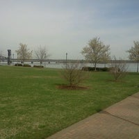 Photo taken at Rhodes Ferry Park by Daniel R. on 3/19/2012