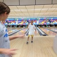 Photo taken at Buffaloe Lanes South Bowling Center by Matthew M. on 7/29/2012
