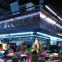 Photo taken at El Quim de la Boqueria by Diana P. on 7/31/2012