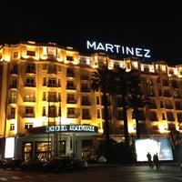 Photo taken at Grand Hyatt Cannes Hôtel Martinez by Jeana C. on 5/31/2012