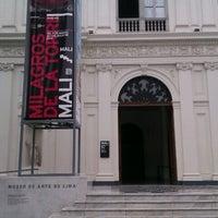 Photo taken at Museo de Arte de Lima - MALI by Carlos M. on 6/15/2012