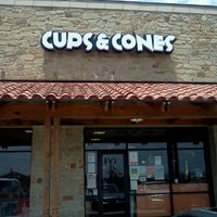 Photo taken at Cups & Cones by Steven N. on 5/21/2012