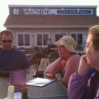 Photo taken at Bayside Clam Bar & Grill by Dan S. on 5/26/2012