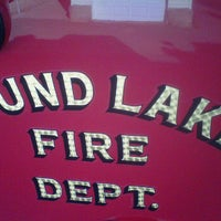 Photo taken at Round Lake Fire Department Station 1 by Mike F. on 3/20/2012