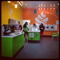 Photo taken at Myo Pure Frozen Yogurt by Marcel on 7/6/2012