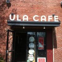 Photo taken at Ula Cafe by Kristin B. on 4/14/2012