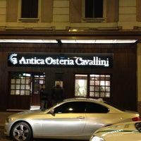 Foto scattata a Antica Osteria Cavallini da Артем К. il 4/17/2012