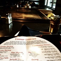 Photo taken at Makoto's Japanese Steak House & Sushi Bar by Cheyenne W. on 2/25/2012