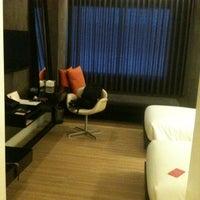 Photo taken at Trinity Silom Hotel by Muhi C. on 6/11/2012