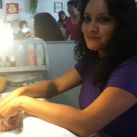 Photo taken at Lovely Nails by Chuck G. on 5/18/2012
