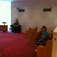 Photo taken at Elvis Presley Memorial Chapel by Luigi C. on 6/8/2012
