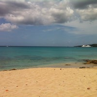Photo taken at Dutch Beach by Dwayne O. on 3/17/2012