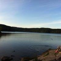 Photo taken at Sognsvann by Alex on 8/27/2012