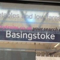 Photo taken at Basingstoke Railway Station (BSK) by Alan A. on 6/25/2012