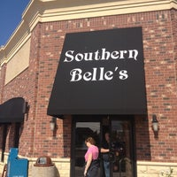 Photo taken at Southern Belle's Pancake House by Nic B. on 3/25/2012