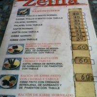 Photo taken at Restaurante Pizza Zeina by Alejodedor on 4/22/2012