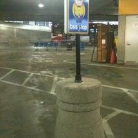 Photo taken at Megabus Bus Stop by Sharyn F. on 4/4/2012