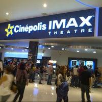 Photo taken at Cinépolis by Oscar A. on 7/8/2012