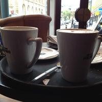Photo taken at Caffè Nero by Toni L. on 4/21/2012