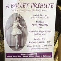 Photo taken at Wicomico High School by Meg H. on 4/15/2012