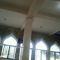 Photo taken at Mesjid Al-Huda by Susy 'Ulee' H. on 8/19/2012