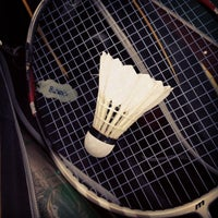 Photo taken at New Vision Badminton Academy by Edwin K. on 8/18/2012