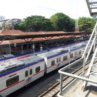 Photo taken at KTM Line - Rawang Station (KA10) by Mahadir A. on 6/2/2012