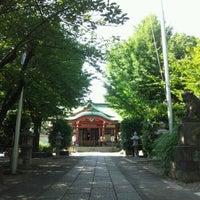Photo taken at 市谷亀岡八幡宮 by Mariko S. on 7/10/2012